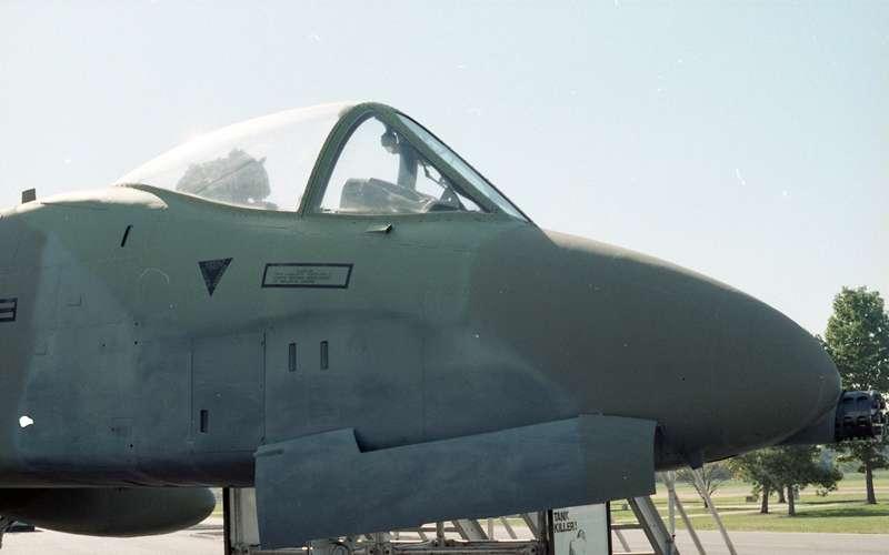 "Fairchild Republic A-10A Thunderbolt II ""Warthog ..."